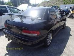 Накладка на бампер. Subaru Impreza WRX STI, GF8, GC8