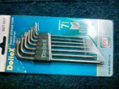 Набор ключей TORX с Г-образным наконечником (Т10-Т40)