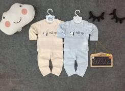 Пижамы. Рост: 60-68, 68-74, 74-80, 80-86, 86-98 см