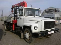 ГАЗ 3309. Продается Бортовой с Гидроманипулятором 2006 г. в, 4 750 куб. см., 3 000 кг., 10 м.