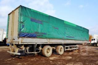 МАЗ 938662. Полуприцеп бортовой тентованный МАЗ-938662, 31 000 кг.