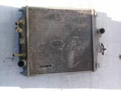 Радиатор охлаждения двигателя. Honda Logo