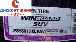 Nexen Winguard SUV. Зимние, без шипов, 2017 год, без износа, 4 шт