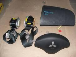 Ремень безопасности. Mitsubishi L200, KB4T, pickup Двигатели: 4D56, HP. Под заказ