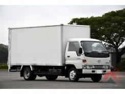 Toyota Dyna. BU107 фургон. 6 шпилек, 3 тонны! Двигатель 15B, 4 100куб. см., 3 000кг., 4x2. Под заказ
