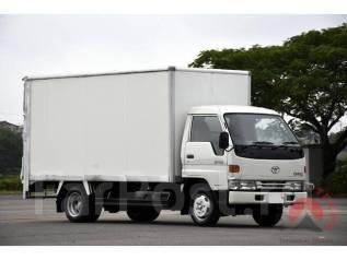 Toyota Dyna. BU107 фургон. 6 шпилек, 3 тонны! Двигатель 15B, 4 100 куб. см., 3 000 кг. Под заказ