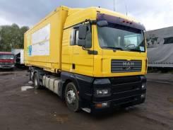 MAN TGA. Промтоварный фургон 26.400, 10 518 куб. см., 16 850 кг.