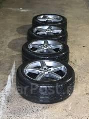 Продам комплект колёс на Mersedes S класс R18, с отл. резиной 255/45R18. 8.5x18 5x112.00 ET43