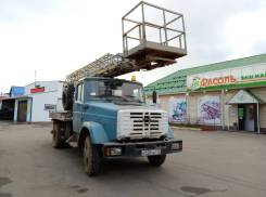 ЗИЛ АГП-18. Автовышка, 6 000 куб. см., 18 м.