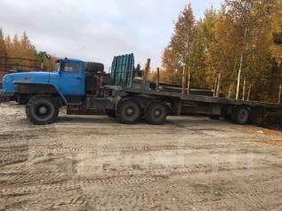 Урал 44202. Урал седельный тягач в сцепке, 11 000 куб. см., 20 000 кг.