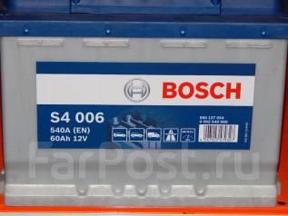 Bosch. 60 А.ч., Прямая (правое), производство Европа