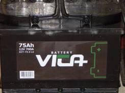 Аккумулятор Vita 12V 74Ah 700A. 74 А.ч., Обратная (левое), производство Россия