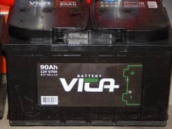 Аккумулятор Vita 12V 90Ah 670A. 90 А.ч., Прямая (правое), производство Россия