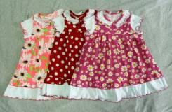 Ира с шитьем платье детское