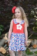Платье детское 313К