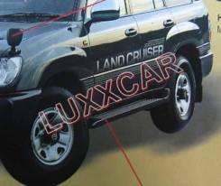 Накладка на подножку. Toyota Land Cruiser, FZJ80J, FZJ80G, HZJ81, HZJ80, HDJ80, FZJ80, FJ80, HZJ81V, FJ80G