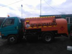 Hyundai HD65. Hyundai Mighty Бензовоз, 4 000 куб. см., 3,00 куб. м.