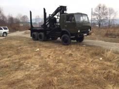 Камаз 4310. Камаз-4310 с гидроманипулятором Соломбалец-СФ65С, 10 850 куб. см., 15 000 кг.