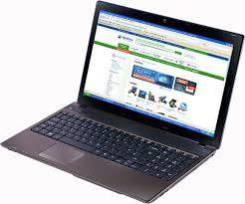 """Acer Aspire 5552G. 15.6"""", 2,1ГГц, ОЗУ 3072 Мб, диск 320 Гб, WiFi, аккумулятор на 2 ч."""