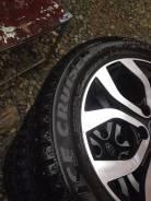Bridgestone Ice Cruiser 7000. Зимние, шипованные, 2016 год, износ: 5%, 3 шт