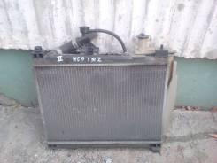 Радиатор охлаждения двигателя. Toyota Platz, NCP12 Двигатель 1NZFE