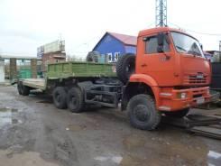 Камаз 6522. Седельный тягач + трал, 11 750 куб. см., 22 000 кг.