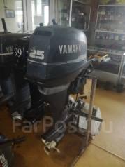 Yamaha. 25,00л.с., 4-тактный, бензиновый, нога L (508 мм), Год: 2004 год