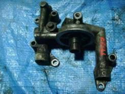 Крепление масляного фильтра. Nissan Atlas, R8F23 Двигатель QD32