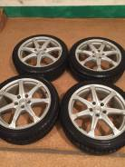 Продам комплект колес на 18 с зимней резиной. 7.5x18 5x114.30 ET38 ЦО 73,0мм.