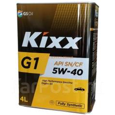Kixx. Вязкость 5W-40, синтетическое