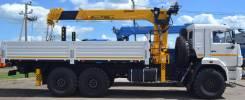 Камаз 43118 Сайгак. Камаз 43118 с КМУ Soosan 736 LTOP, 11 000 куб. см., 6 000 кг.
