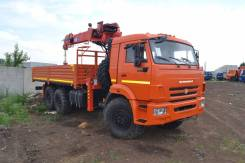 Камаз 43118 Сайгак. Камаз 43118 с КМУ Kanglim 1256 KS G-2, 11 000 куб. см., 6 500 кг.