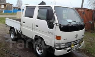 Toyota Dyna. Продам двухкабинник 4х4 Дюна, 3 000 куб. см., 1 250 кг.
