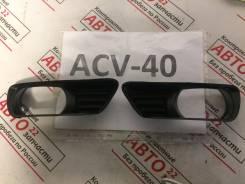 Заглушка бампера. Toyota Camry, ACV45, ACV40, GSV40 Двигатели: 2GRFE, 2AZFE