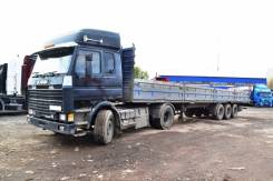 Scania. Сцепка тягач 142м Год выпуска 1988, 14 200 куб. см., 18 000 кг.