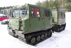Hagglunds BV-206. Вездеход Лось, 3 000 куб. см., 2 200 кг., 4 340,00кг.