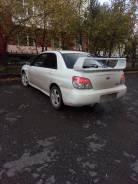 Спойлер. Subaru Impreza WRX, GDA, GDB