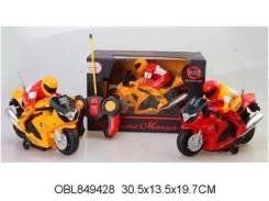 Радиоуправляемые мотоциклы.
