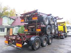 Dennison. Полуприцеп контейнеровоз высокий, 2005, 35 300 кг.
