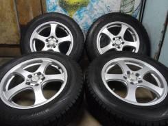 Продам Отличные Стильные колёса Rufina+Зима Жир 225/65R17RAV4. 7.0x17 5x114.30 ET48