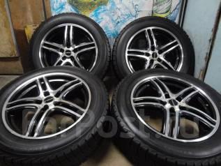 Продам Стильные Модные колёса Laffite+Зима Жир 215/60R17Toyota, Honda,. 7.0x17 5x114.30 ET48