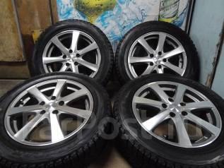 Продам Редкие Стильные колёса Enkei Rivazza+Зима Жир215/60R17Toyota, NI. 7.0x17 5x114.30 ET38
