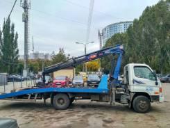 Hyundai HD78. Эвакуатор Hyundai HD-78, с КМУ PM-12012, 1 000 куб. см., 1 000 кг.