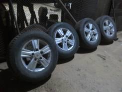 Продам комплект оригинальных дисков с зимней резиной на Toyota LC200. x18 5x150.00