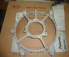 Вентилятор охлаждения радиатора. Kia Morning Kia Picanto, BA Двигатели: G4HE, G4HG