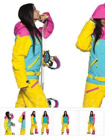 Лыжный Комбинезон COOL ZONE 18 MIX 3522 12 Цикламен-Бирюза-Желтый ... 7fd448ebce1
