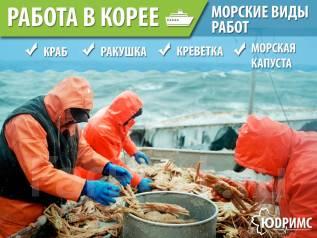 Морские виды Работ в Ю-Кореи! Выезд 18.12 и 25.12 Паром 20 000 руб.