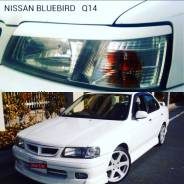 Накладка на фару. Nissan Bluebird, EU14, QU14, SU14, HU14, ENU14 Двигатели: SR20VE, CD20, SR20DE, CA20, QG18DE, QG18DD, SR18DE, CD20E