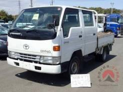 Toyota Dyna. двухкабинник бортовой, 5L, рама LY132, задний привод, 3 000 куб. см., 1 250 кг. Под заказ