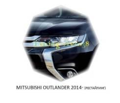 Накладка на фару. Mitsubishi Outlander, GF4W, GF7W, GF3W, GF2W, GG2W Двигатели: 6B31, 4B11, 4B12